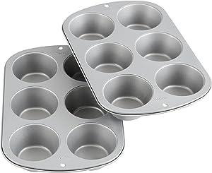 Wilton-Recipe-Right-Non-Stick-6-Cup-Jumbo-Muffin-Pan