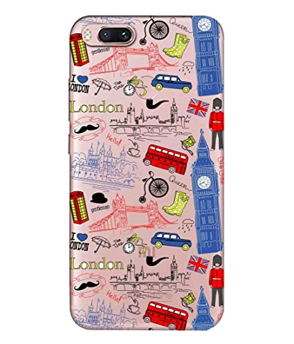 Snooky Printed London Mobile Back Cover of Xiaomi MI A1