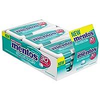 12PK Mentos Clean Breath Hard Mints Sugar Free Candy