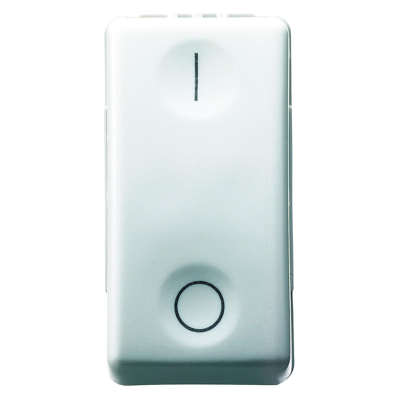 Gewiss System 80003S GW20503 Zweipoliger Schalter, 16 A, Weiß ...