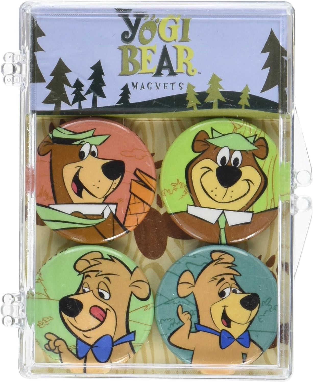 Hanna-Barbera - Yogi Bear Magnets (Yogi Bear x2, Boo-Boo x2)