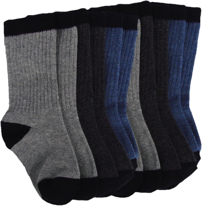 6 Pairs Women Colorful Fancy Polka Dot Design Soft /& Stretchy Novelty Crew Socks