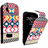 STYLEYOURMOBILE NOKIA ASHA 200 / 201 PREMIUM QUALITY PU LEATHER MAGNETIC FLIP CASE SKIN COVER POUCH