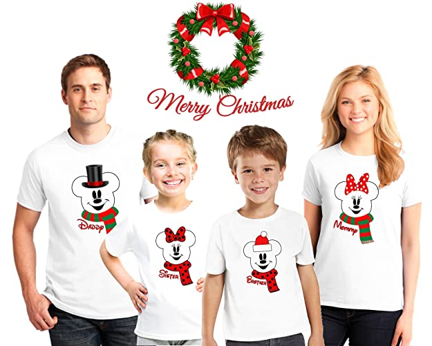 Matching Christmas Shirts For Family.Amazon Com Personalized Christmas Family Pajama Matching