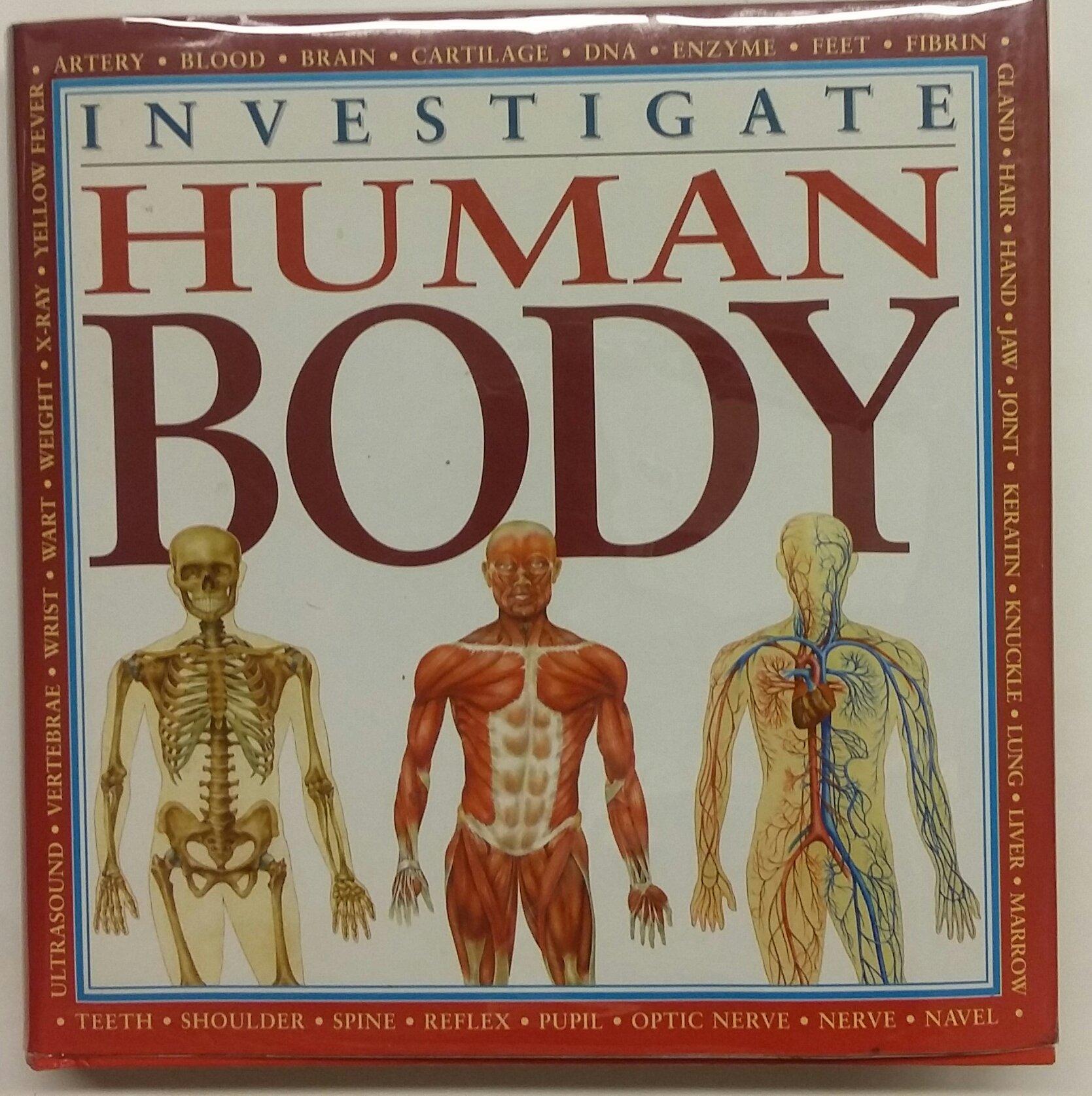 Investigate Human Body 0038332180152 Amazon Books