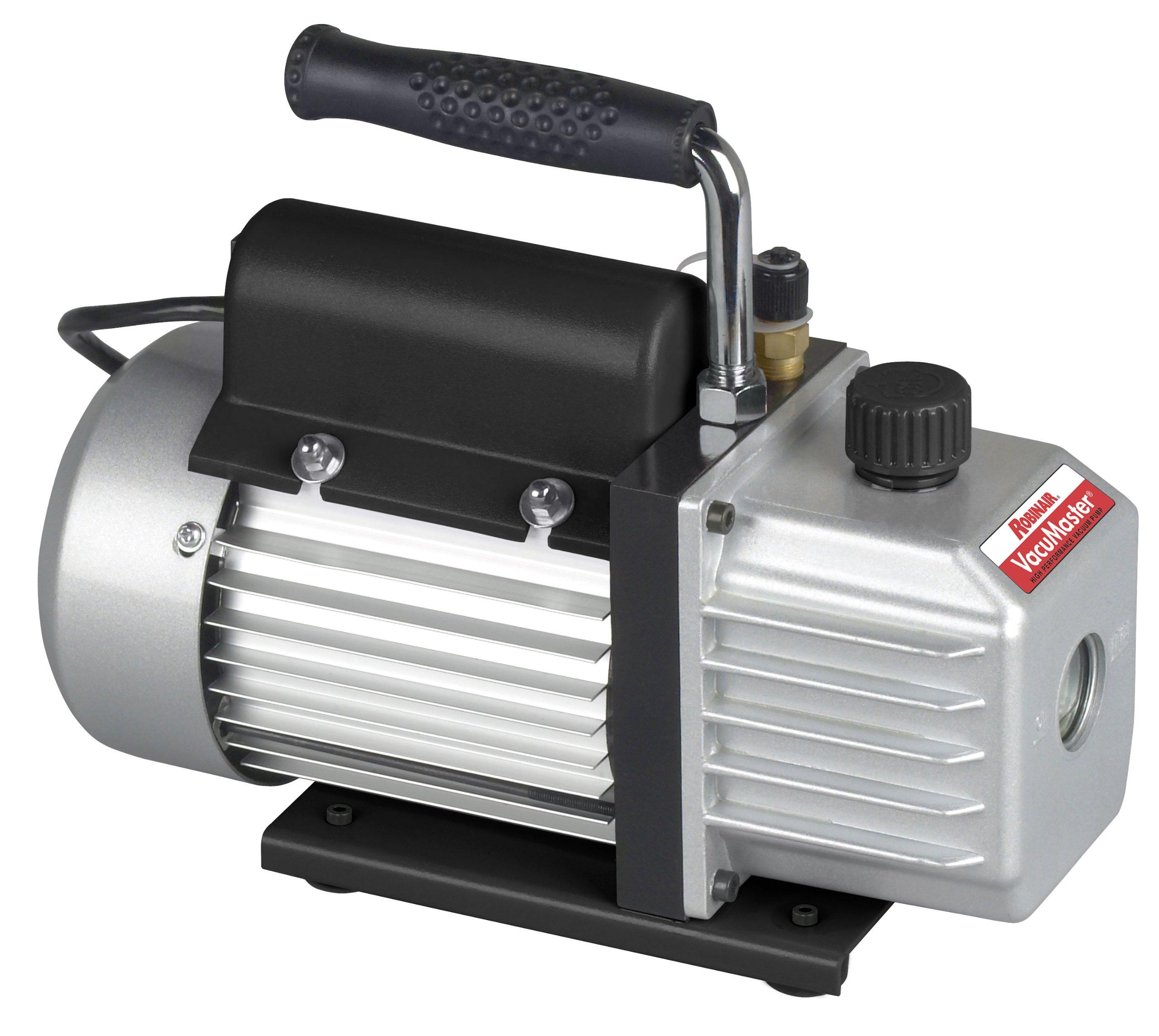 Robinair (15115 VacuMaster Single Stage Vacuum Pump - Single-Stage, 1.5 CFM