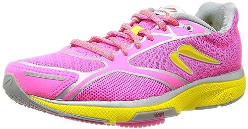 NEWTON Gravity III Zapatilla de Running Señora, Rosa/Amarillo, 42.5: Amazon.es: Zapatos y complementos