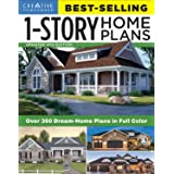 Best-Selling 1-Story Home Plans, Updated 4th Edition: Over 360 Dream-Home Plans in Full Color (Creative Homeowner) Craftsman,