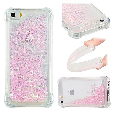 coque iphone 5 glitter liquide
