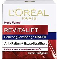 L'Oréal Paris Revitalift Nachtverzorging, Anti-Aging Gezichtsverzorging, Anti-Rimpel En Extra Stevigheid, Pro-Elastine…