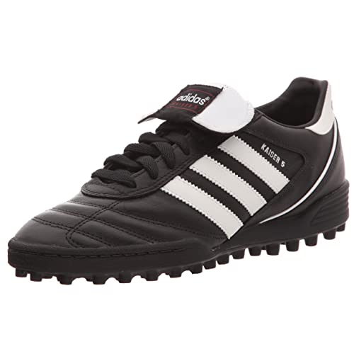 adidas Kaiser 5 Team, Men Football Competition Shoes, Black (Black/Running  White