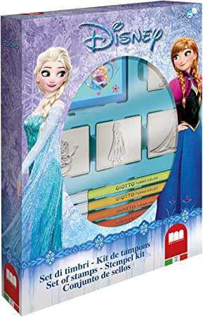Disney Frozen - Caja 4 Sellos (Multiprint 27883): Amazon.es ...