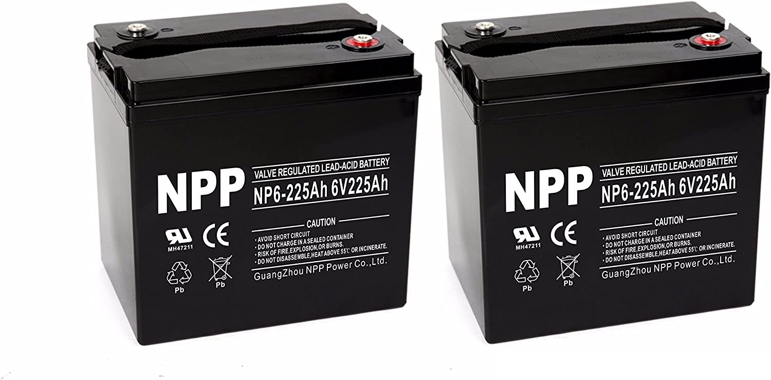 NP6-225Ah 6V 225Ah RV Battery