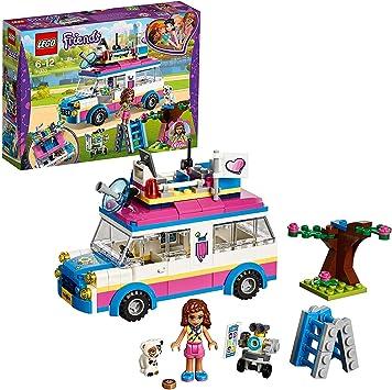 Oferta amazon: LEGO Friends - Vehículo de Operaciones de Olivia, Set de Construcción con Mini Muñeca y Gato para Niñas y Niños de 6 a 12 Años, Incluye Vehículo (41333)