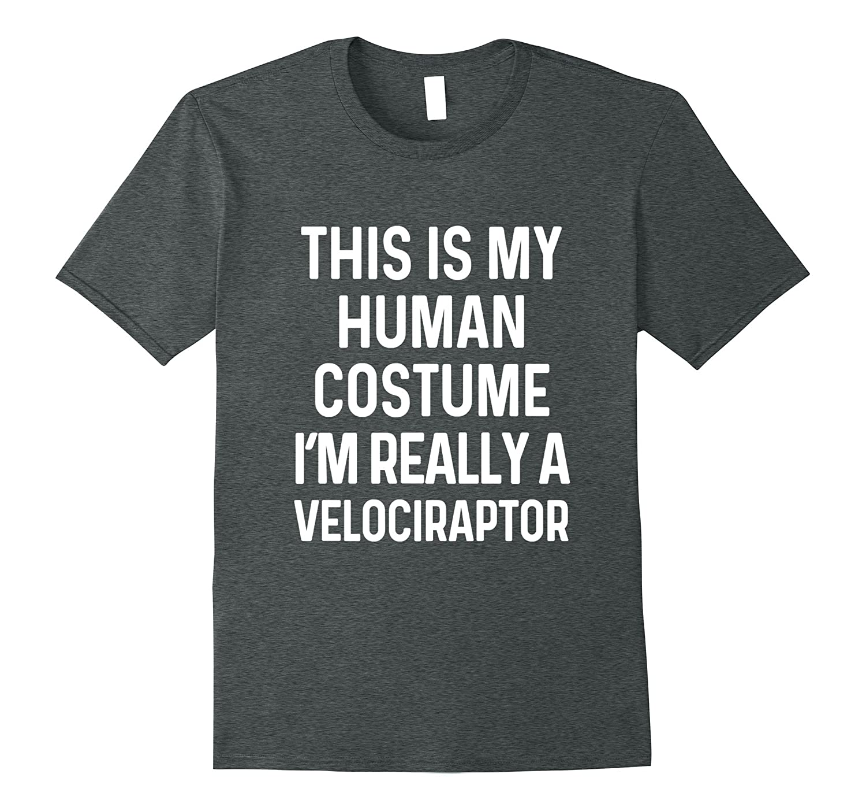 Funny Velociraptor Costume Shirt Halloween Men Women Kids-T-Shirt