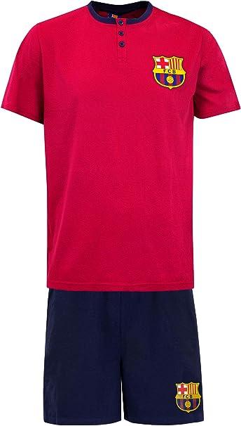 Premier League Pijama para Hombre Barcelona FC: Amazon.es: Ropa y ...