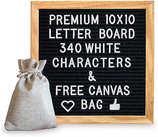 """10"""" X 10"""" Letterboard"""