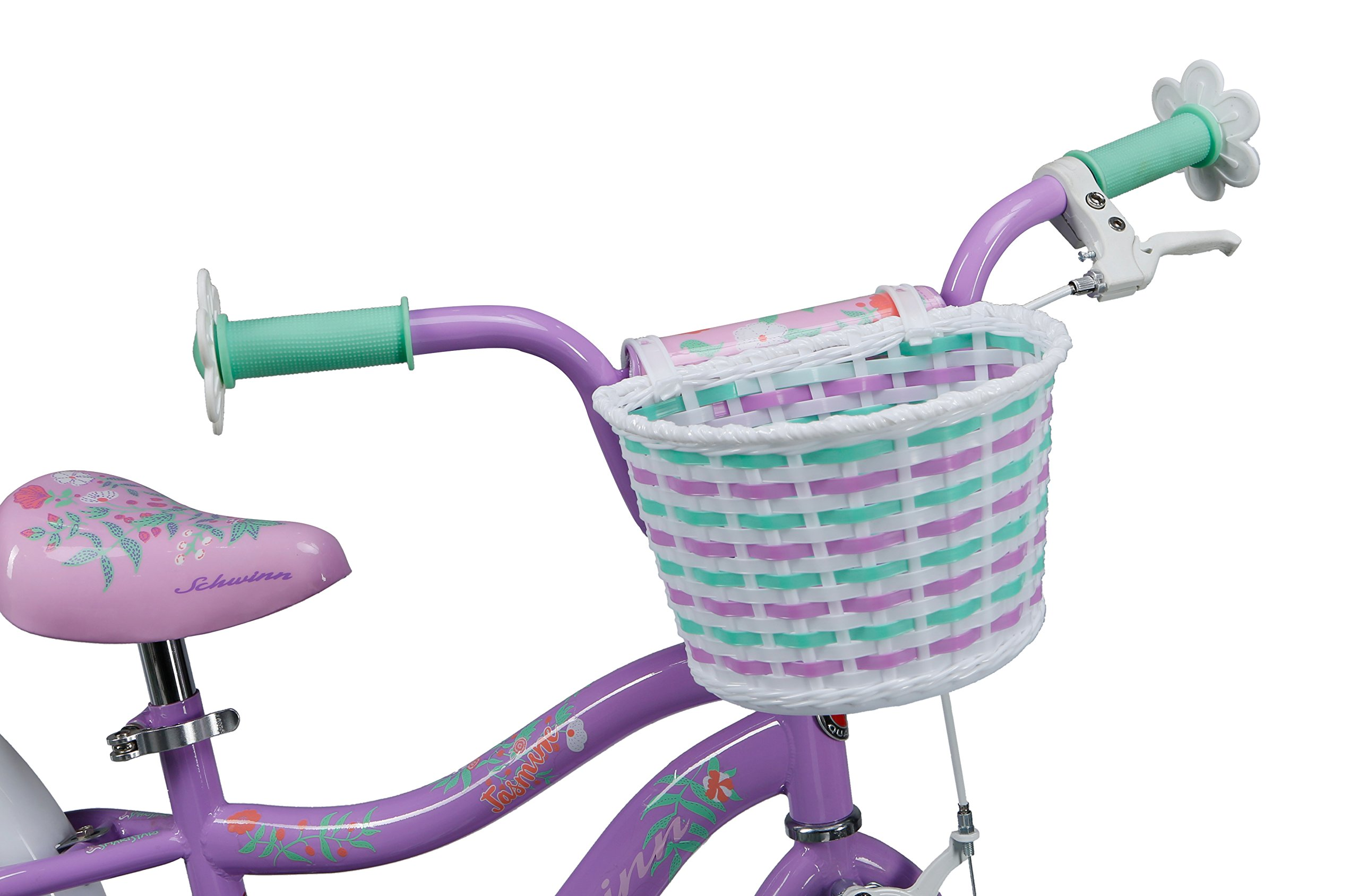 Schwinn Girl's Jasmine Bicycle, 16'', Purple by Schwinn (Image #5)