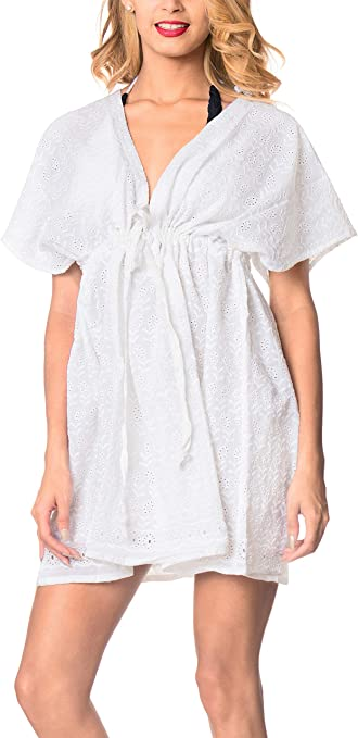 TALLA L-XXL. LA LEELA algodón Bikini de la Playa de Las Mujeres sólida Tapa hacia Arriba BR001