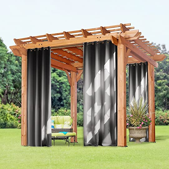 rideau pergola exterieur cheap charming rideaux d exterieur pour terrasse with rideau pergola. Black Bedroom Furniture Sets. Home Design Ideas