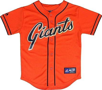 San Francisco Giants Blank Orange Infants Authentic Alternate Replica Jersey  (18 Months) f68471e67