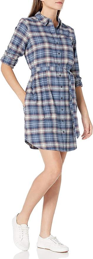 Goodthreads Vestido de Franela cepillada Camisa de Botones para Mujer: Amazon.com.mx: Ropa, Zapatos y Accesorios