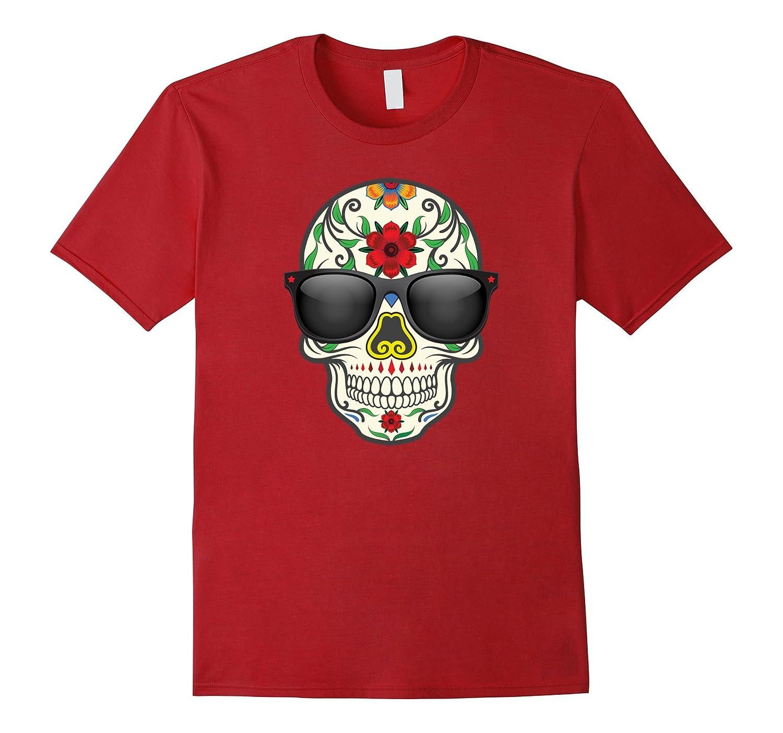 Cool Sugar Skull T-Shirt Day of the Dead Dia De Los Muertos