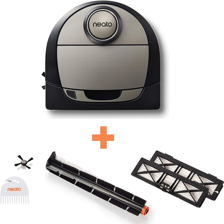Robot aspirador Neato Robotics D750 Pack Premium, robot aspirador ...