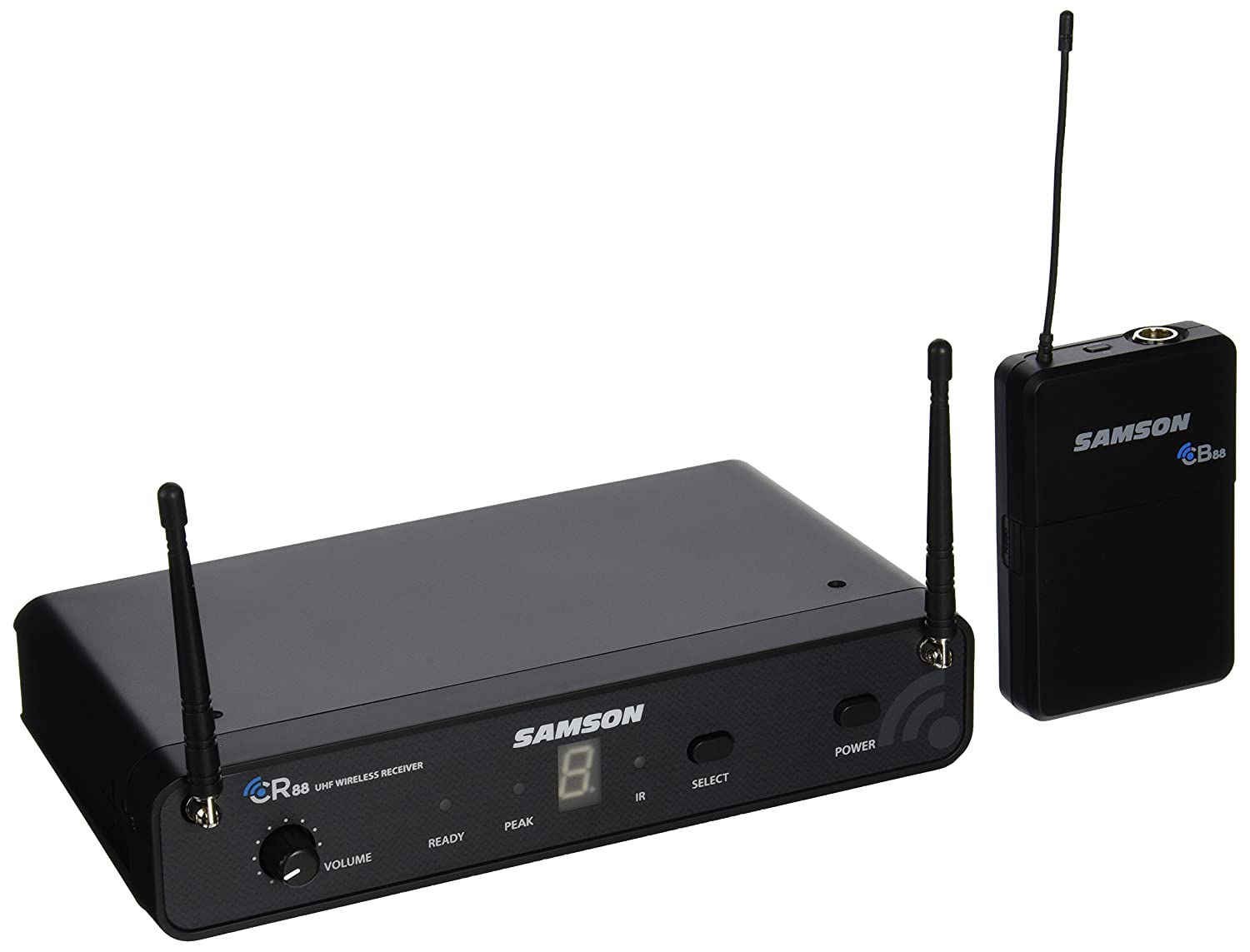 Samson Concert 88 C88HCL6-D Handheld 16-Channel True Diversity Wireless System Samson Audio
