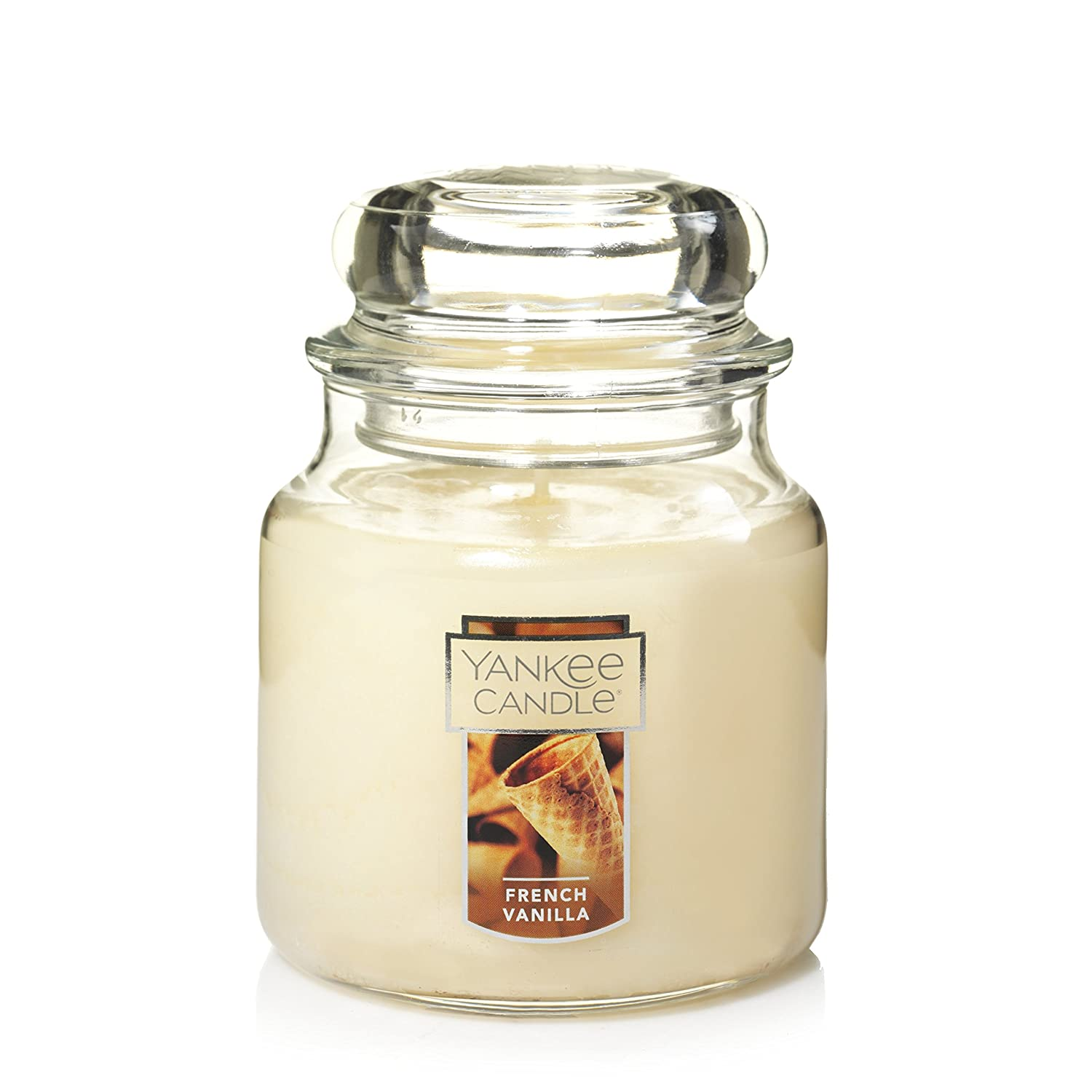 Yankee Candle Medium 2-Wick Tumbler Candle, French Vanilla Yankee Candle Company 1125718Z