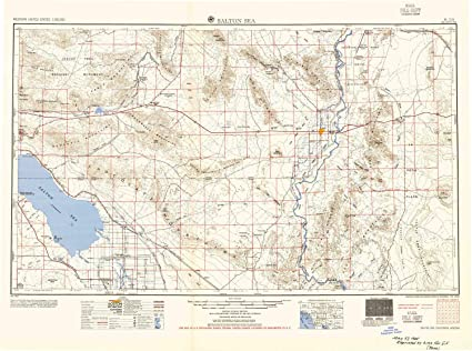 Amazon.com : YellowMaps Salton Sea CA topo map, 1:250000 Scale, 1 X on united states california map, colorado river california map, lakeview terrace california map, trinity county ca map, sequoia national park california map, sea ranch california map, thousand palms california map, wister refuge map, niland ca map, salt sea map, fort irwin california map, pine mountain club california map, lake berryessa california map, whitewater river california map, american river california map, silverwood lake california map, dust bowl california map, yosemite national park california map, kings canyon california map, san jose ca on ca map,