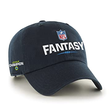 d3db8999189 Amazon.com   NFL Fantasy Football Champion Clean Up Hat