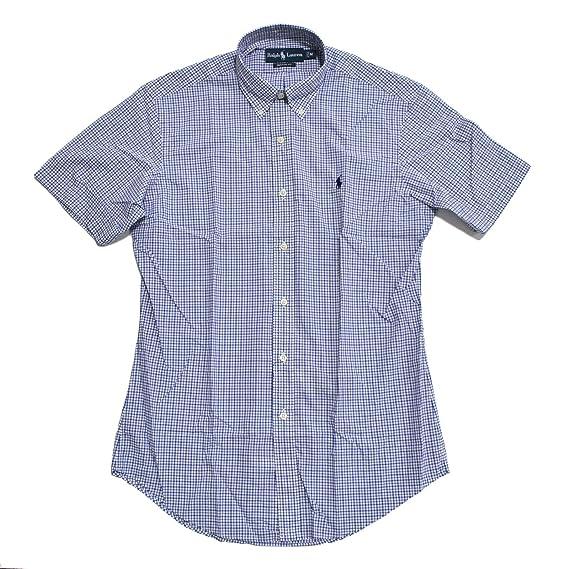 Polo Ralph Lauren Hombre Custom-Fit Plaid camisa de popelina de ...