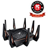 ROG Rapture GT-AX11000, AX11000 Tri-band WiFi 6 (802.11ax) Gaming Router –World's first 10 Gigabit Wi-Fi router with a quad-core processor