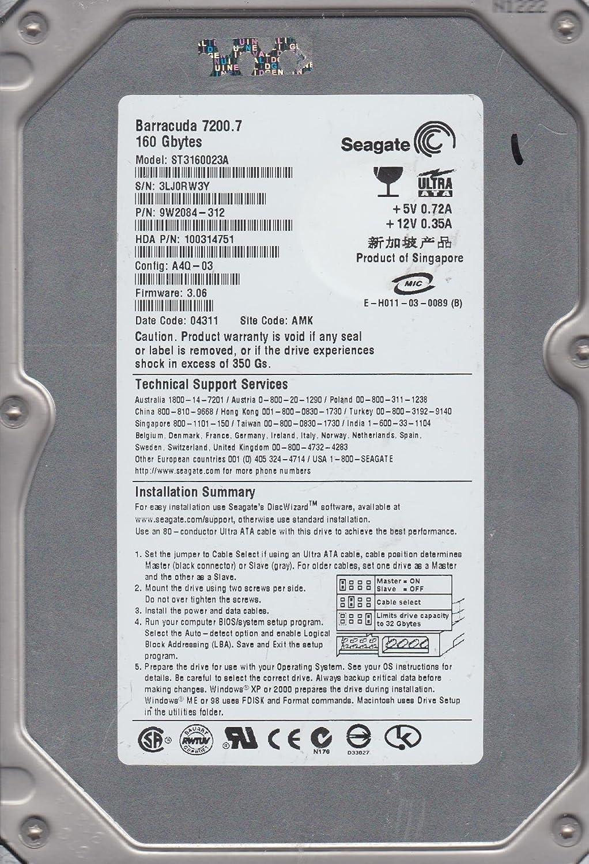 Amazon.com: ST3160023A Seagate Barracuda 7200.7 Hard Drive ...
