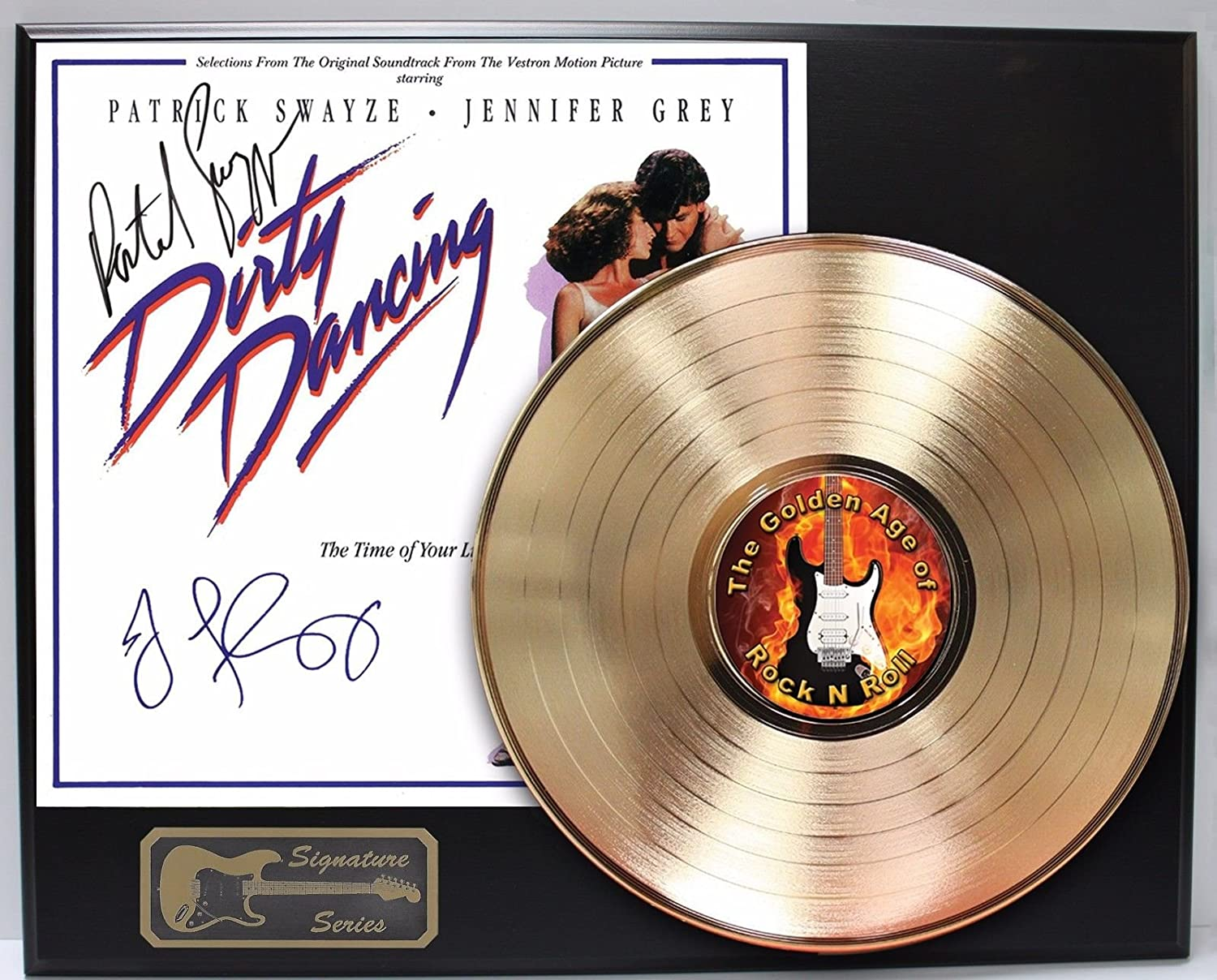 Dirty Dancing Gold Lp Signature Display M4
