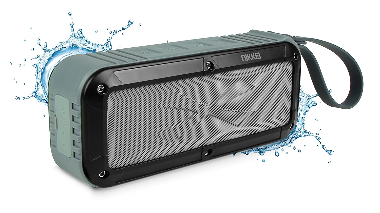 日経BOXX3GY Bluetooth/AUX入力付き防水スピーカー B01BNNPXFO