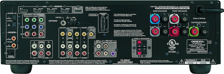 onkyo tx sr507 black 5 1 channel home theater receiver amazon onkyo tx sr507 black 5 1 channel home theater receiver amazon co uk hi fi speakers
