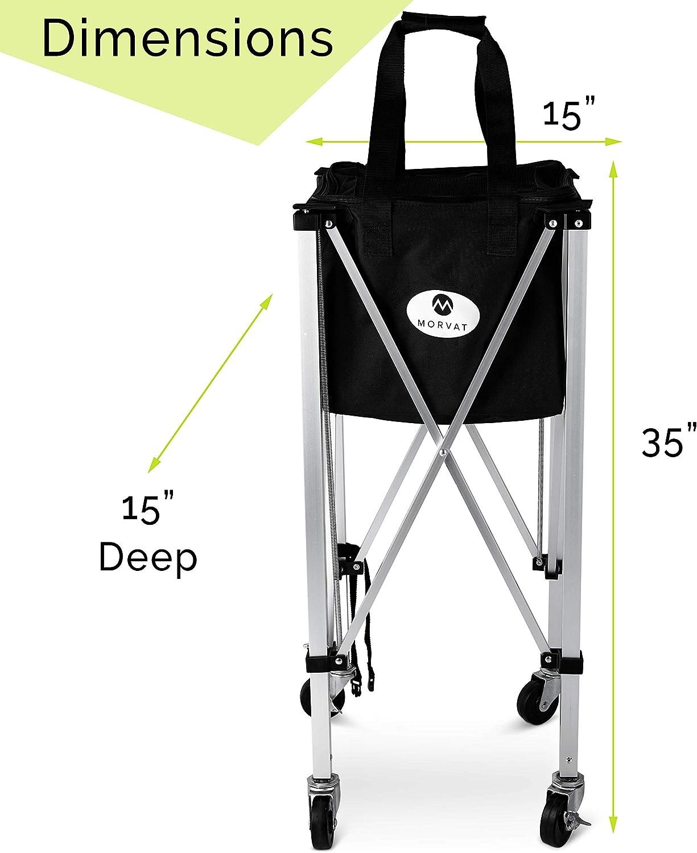 Amazon.com: Morvat - Carrito de tenis (capacidad para hasta ...