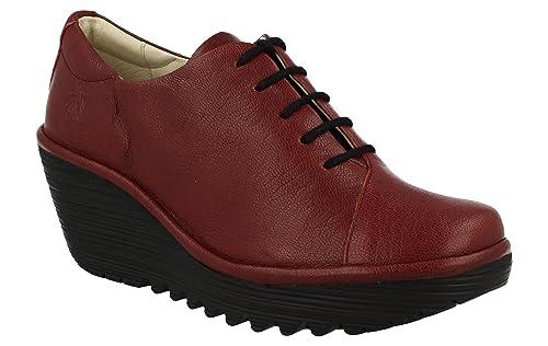 40 Y P500683011 Rojo Zapatos Yumi Amazon London Zapato Fly es Rojo CSwB7Pq