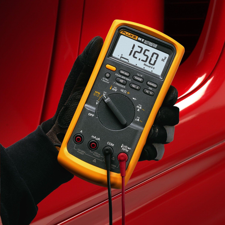 Fluke 88 V /A KIT Automotive Multimeter Combo Kit