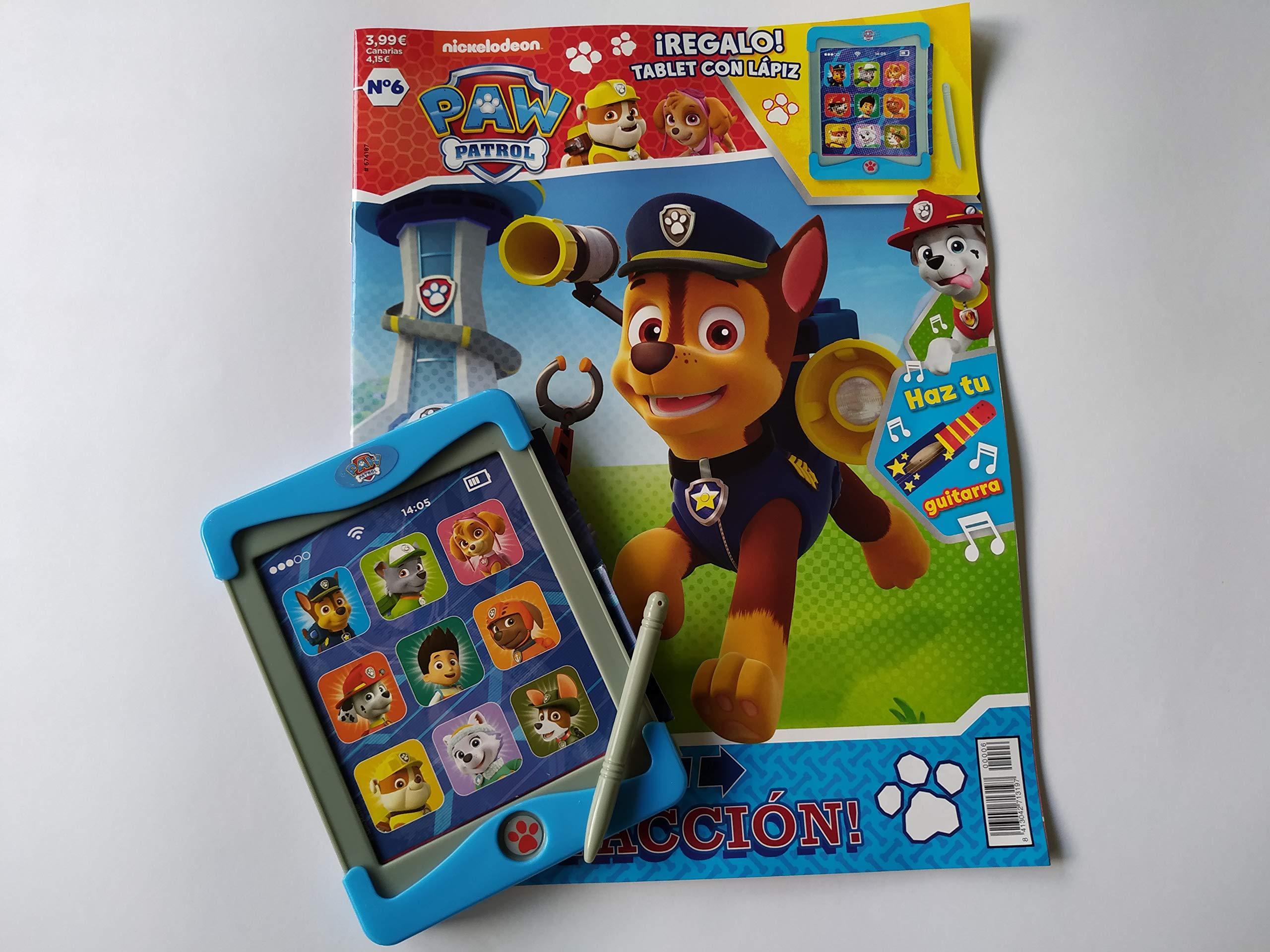 Patrulla Canina - Revista + tablet de juguete - Nº 6: Amazon.es ...