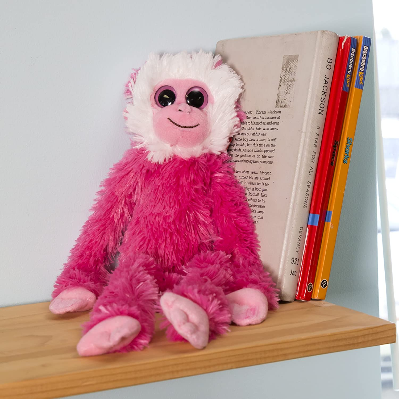 Hanging Monkey Aurora World Pink Gibbon