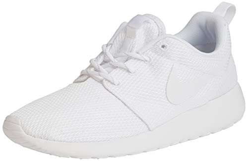 Nike Women's Roshe One White/White Running Shoe 8 Women US