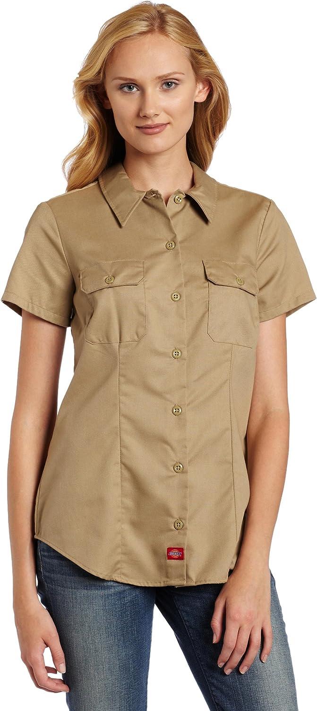 Dickies Women's Short-Sleeve Work Shirt: Clothing