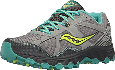 184b05e090bf Saucony Women s Grid Raptor TR Grey Teal Citron 2 5 ...