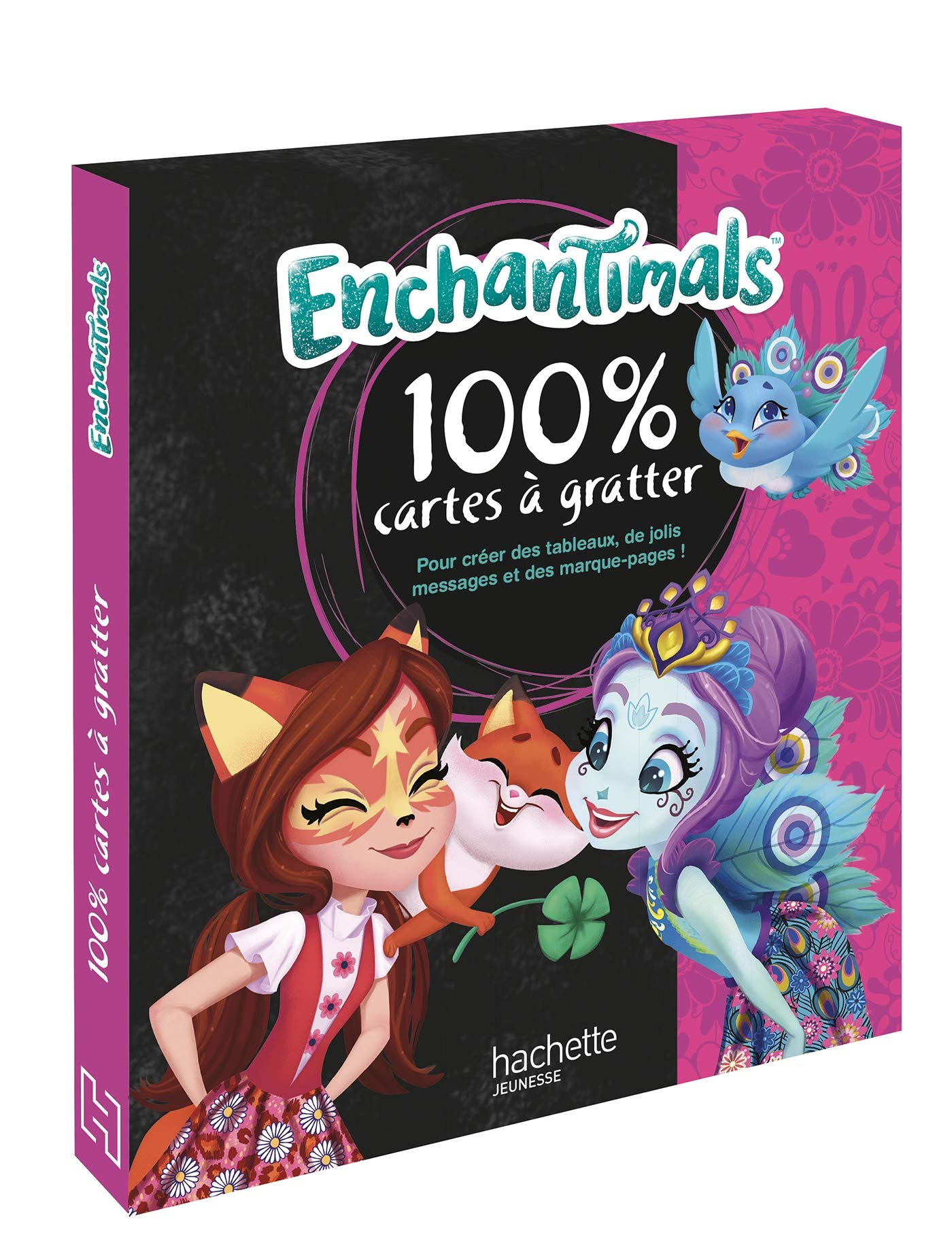 Enchantimals Mon Coffret 100 Cartes A Gratter