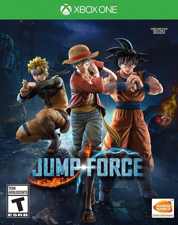 Amazon.com: Jump Force: Standard Edition - Xbox One: Bandai ...