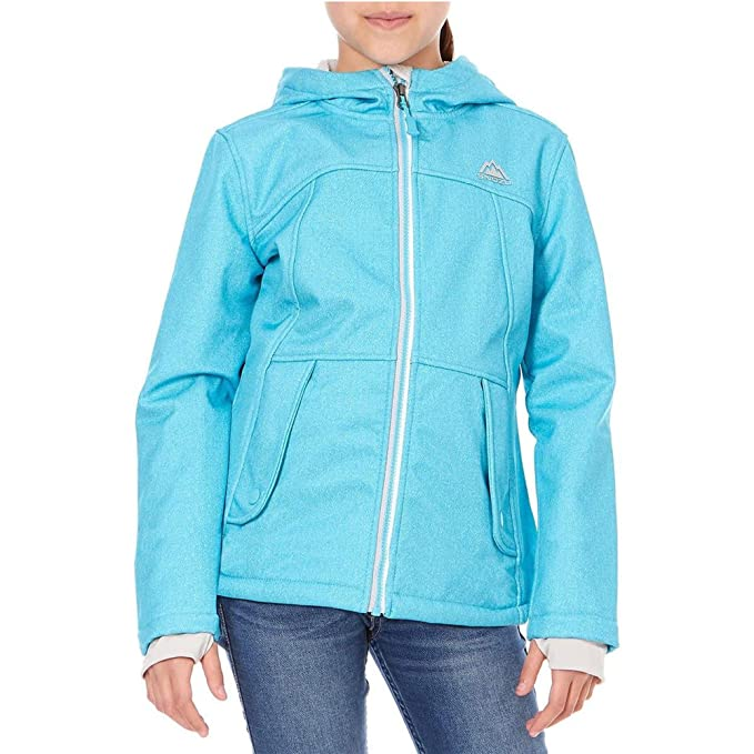 175a4d32a Amazon.com  Snozu Hooded Softshell Jacket For Girls  Clothing