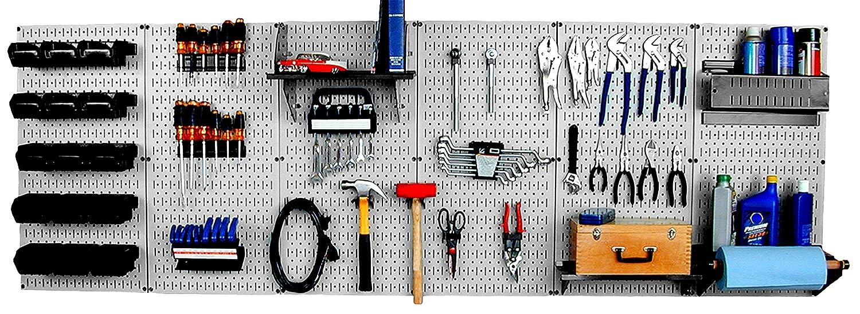 Wall Control  Master Workbench Metal Pegboard Tool Organizer